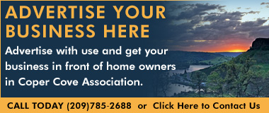 Advertise with Copper Cove Association